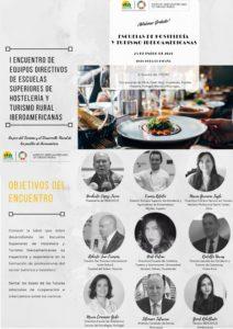 I Encuentro de Equipos Directivos de Escuelas Superiores de Hostelería y Turismo Iberoamericanas